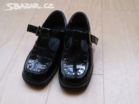 Dětské dívčí společenské boty 25 lakýrky - Lipůvka 515d2660f1