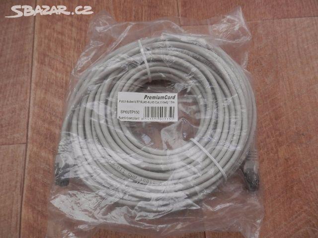 1280a10a3 Prodám síťový kabel PremiumCord UTP CAT.6 15m - Brno - Sbazar.cz
