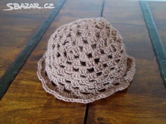 72026fe41ff Nový háčkovaný klobouk