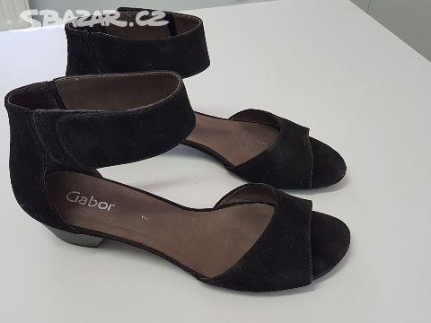 Prodám dámské zánovní boty GABOR UK 7 - Praha - Sbazar.cz 61ed036e5d7