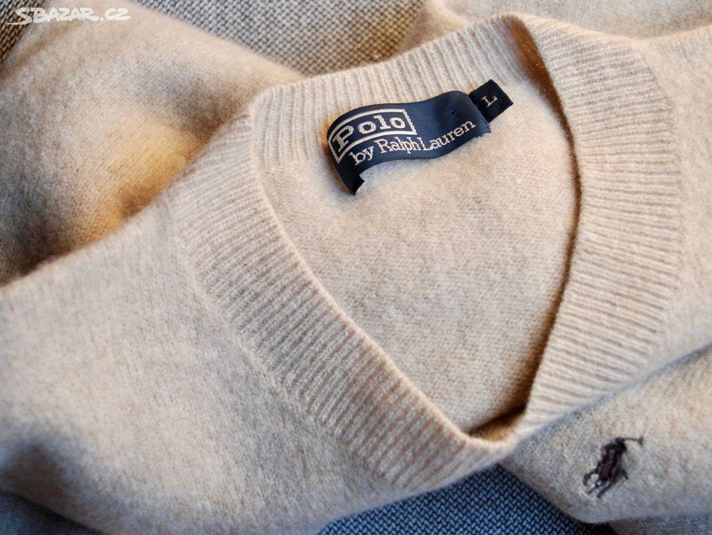 2c5fc104969 Stylový pánský vlněný svetr Polo Ralph Lauren - Rychnov u Jablonce ...