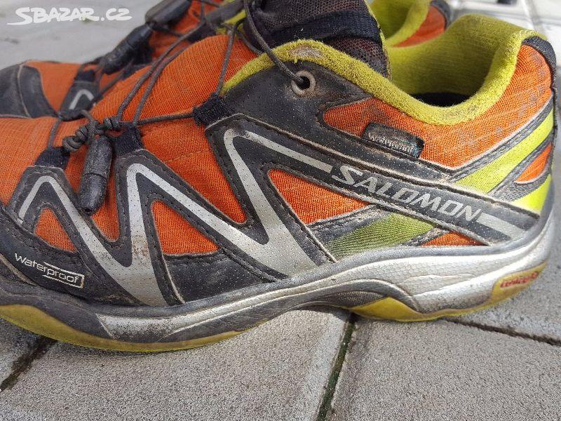 5cac122b80b Dětské boty botasky Salomon vel. 35 - Hranice