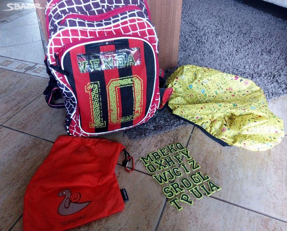 0d41956cf75 Školní batoh fotbal Topgal 1.-4.třída - Dřísy