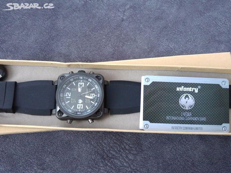 Pánské vojenské hodinky Infantry - nové - Kladno - Sbazar.cz 813ce8cb3a