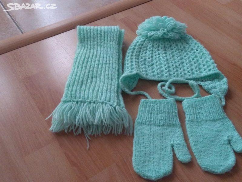 fc07f5b8086 Pletené čepice a rukavice - Oslavany