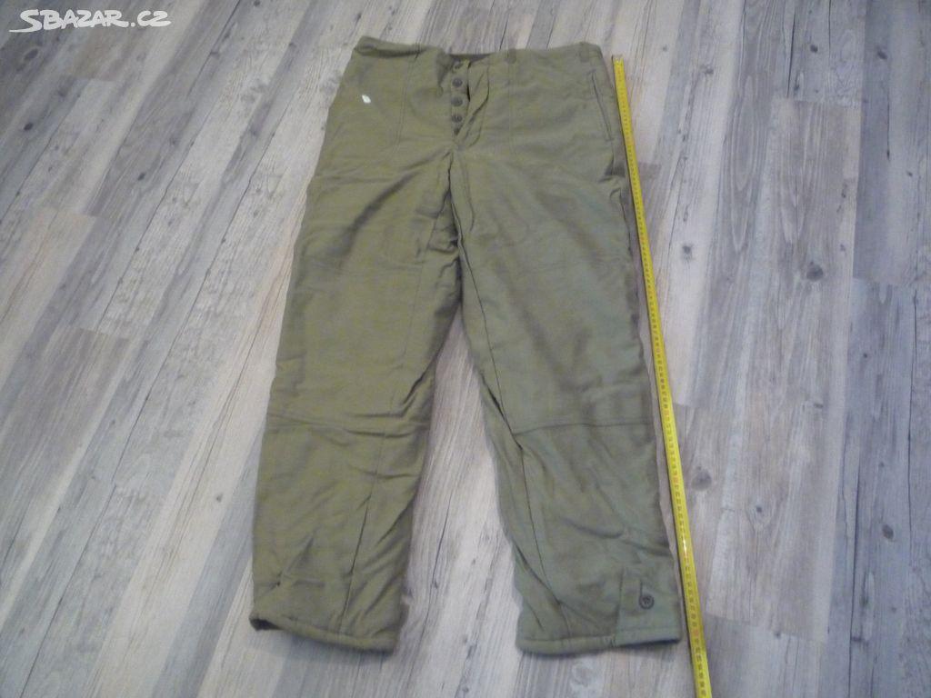 vojenské zimní kalhoty nové OTAVAN - Litohoř dcdbcf3eba