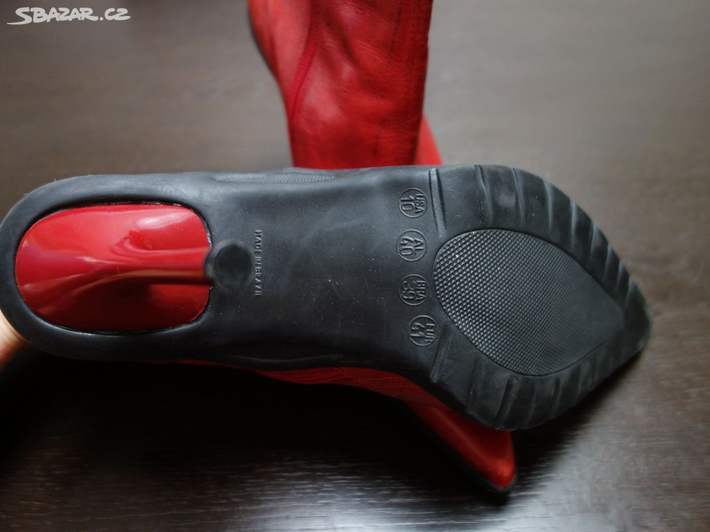 Dámské červené 85637ecfa6