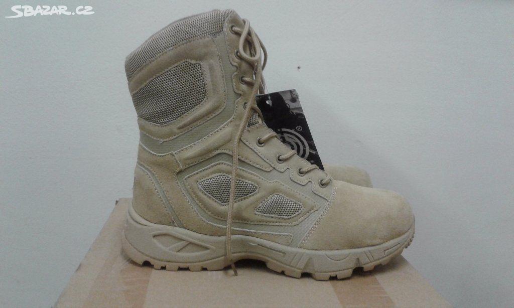 1d68027f6ae taktická vojenská obuv vel.45 - Březová-Oleško