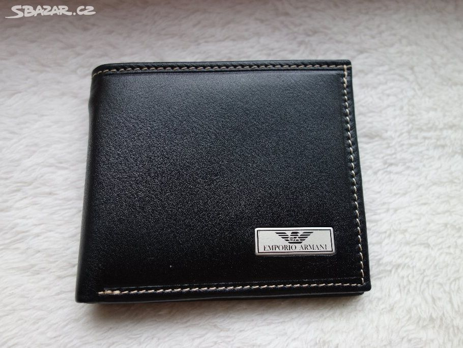 740196ef598 ARMANI    pánská kožená peněženka - Český Brod