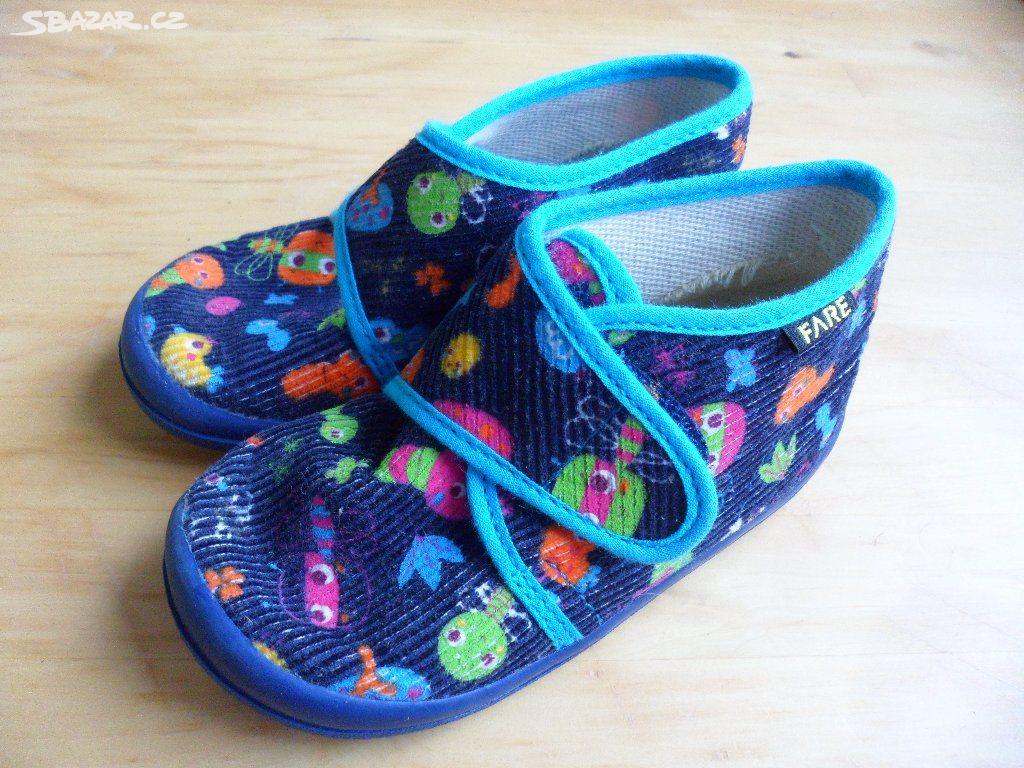 Dětské papuče FARE vel.22 - Kuřim 8b30e5b00d