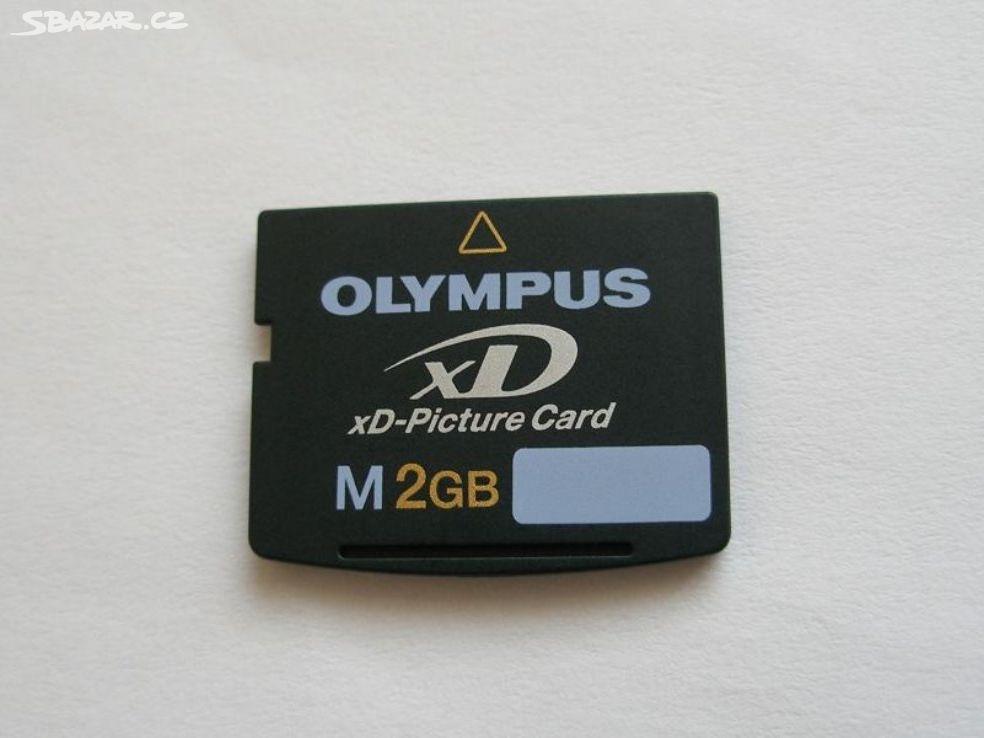 2gb Xd Pametova Karta Pro Olympus M Brno Sbazar Cz