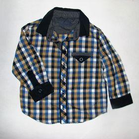 Inzeráty kostkovaná košile - Oblečení pro děti od 1 do 3 let bazar ... 323e3397dc