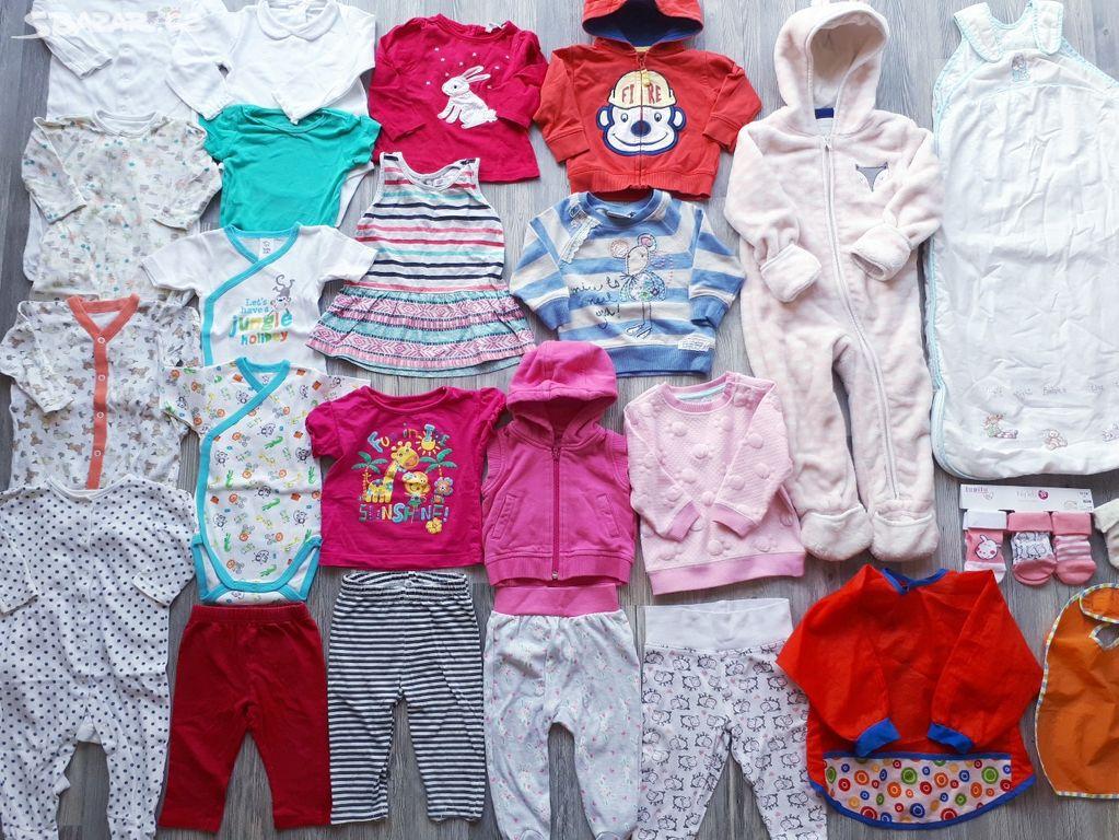 5c457e9b046 Balík oblečení pro holčičku 74