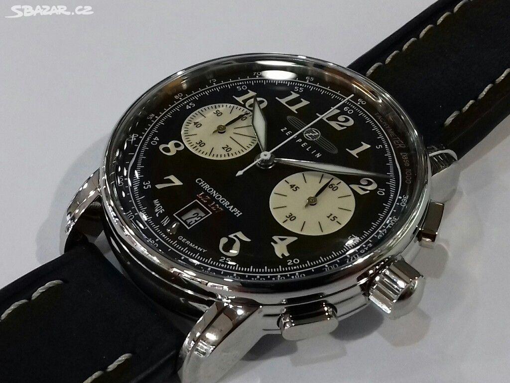 100% nové hodinky Zeppelin 518672c4d37