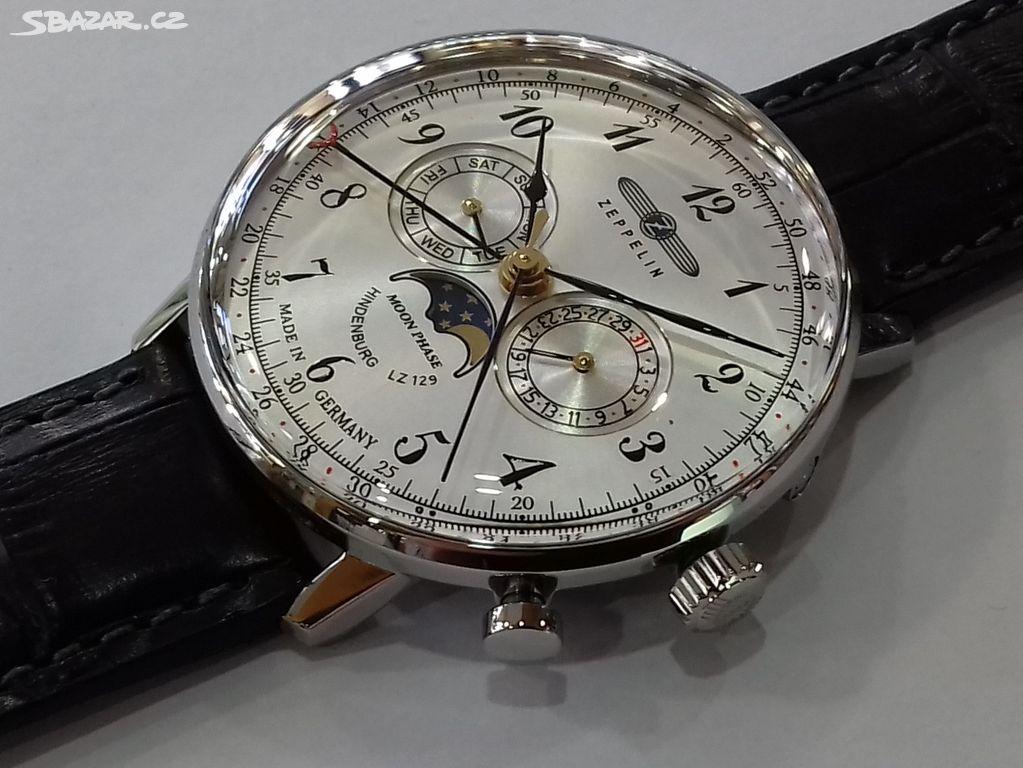 100% nové hodinky zn. Zeppelin b5ddce2d5e2