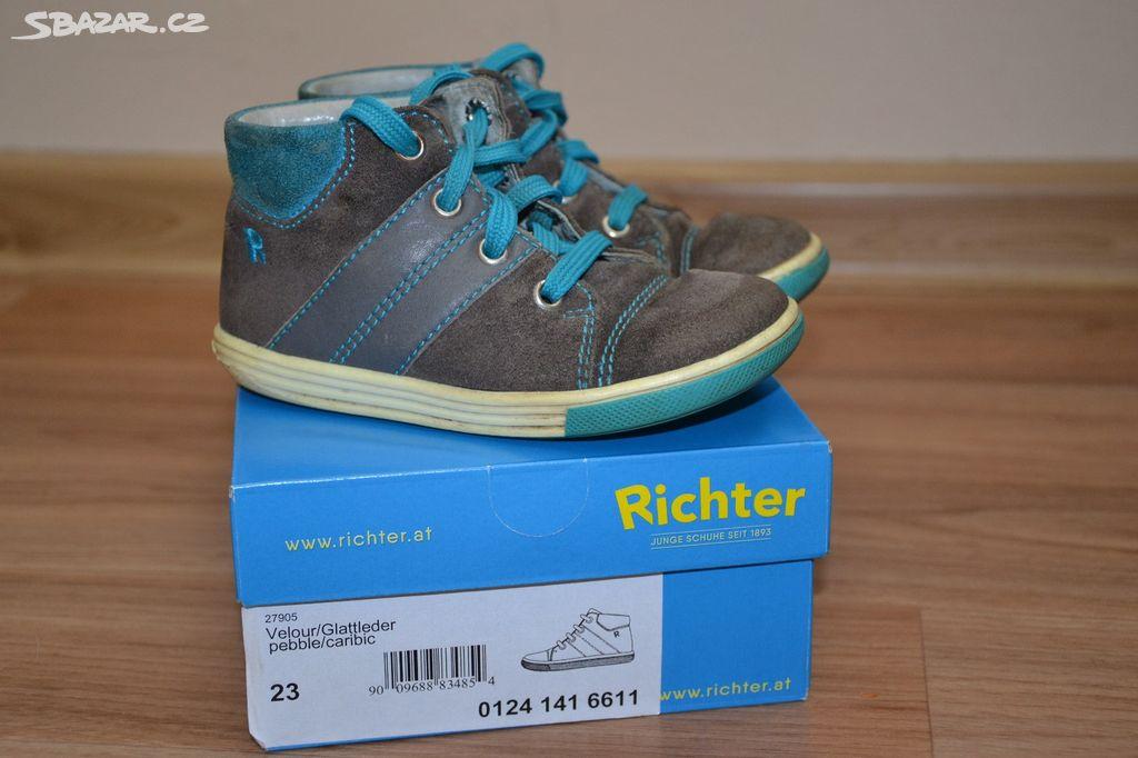 d5c205bbf70 Celoroční boty Richter