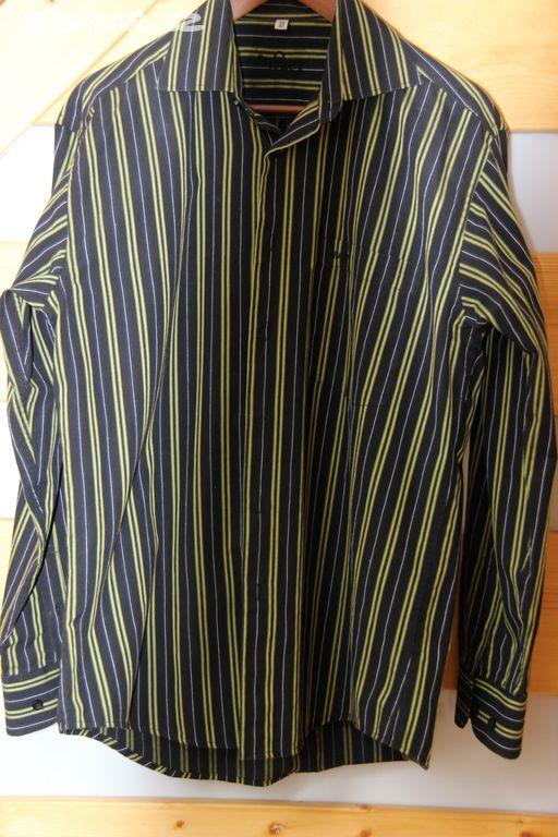 ca64dcc7b6e Pánská košile s dlouhým rukávem - vel. 39 40. Předchozí obrázek