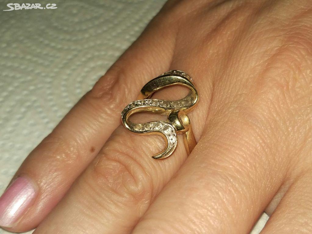 4bc6b144f Masivní zlatý prsten, vel. 55 - Brno-město - Sbazar.cz
