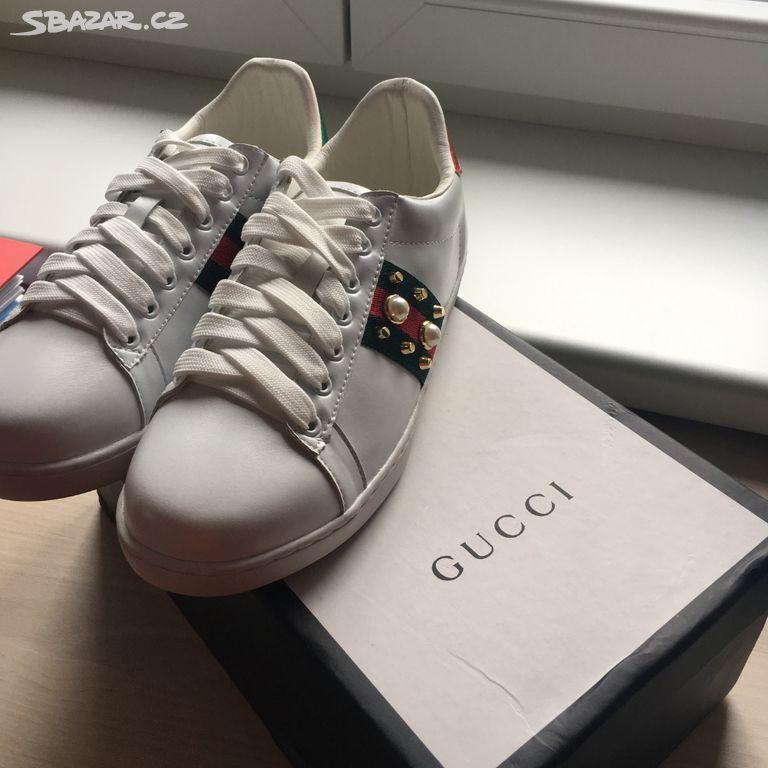 5212afa76 Gucci tenisky sneakers - Praha - Sbazar.cz
