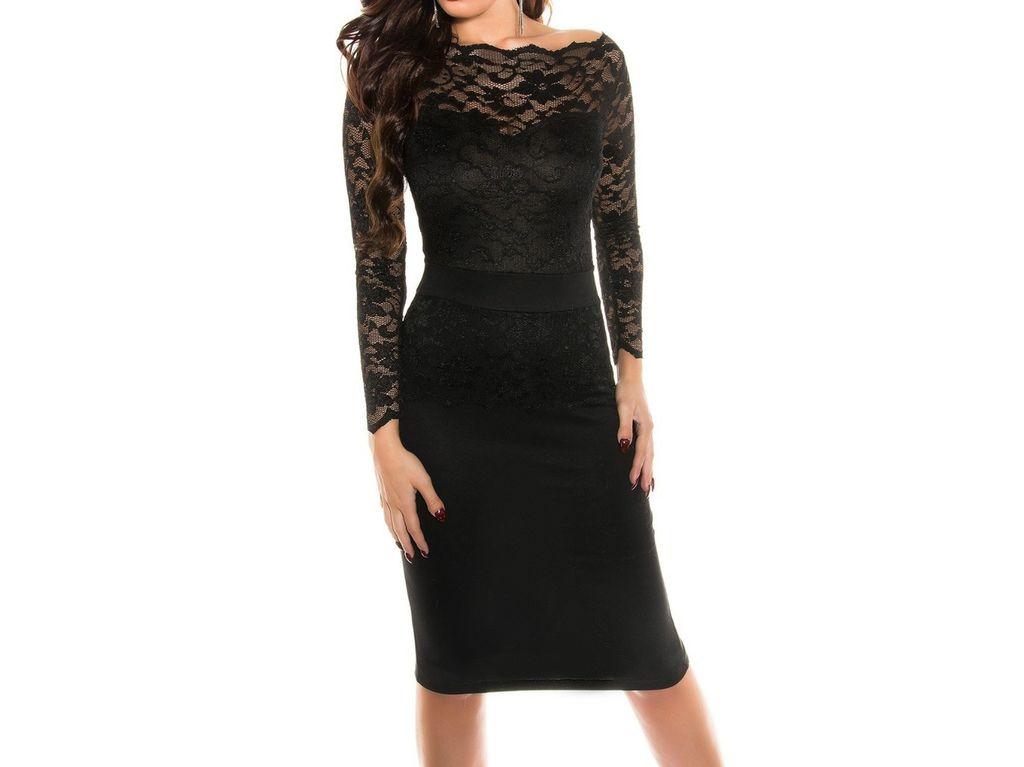NOVÉ Dámské šaty černé 846fe02000