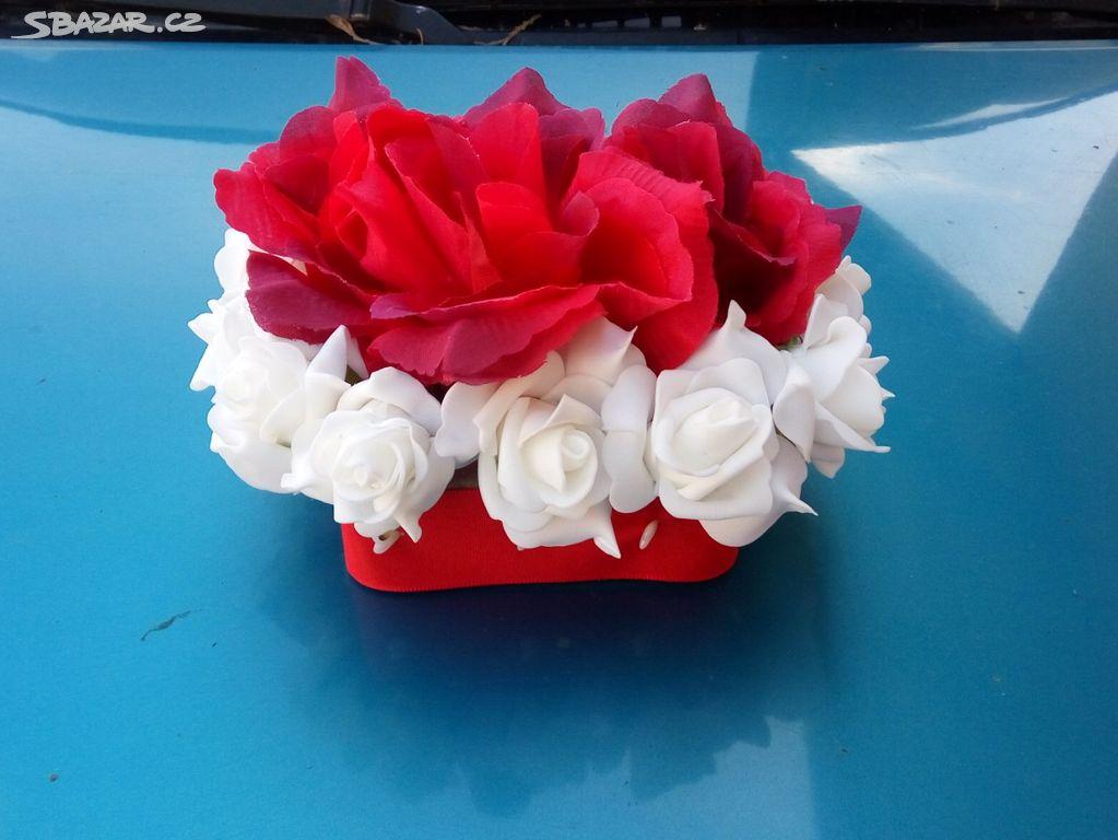 Svatebni Kvetinova Dekorace Cervena Benesov Sbazar Cz