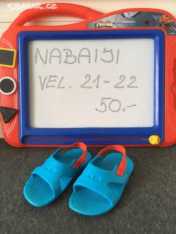 fb15c91bf9c Dětské sandálky Nabaiji - Unhošť