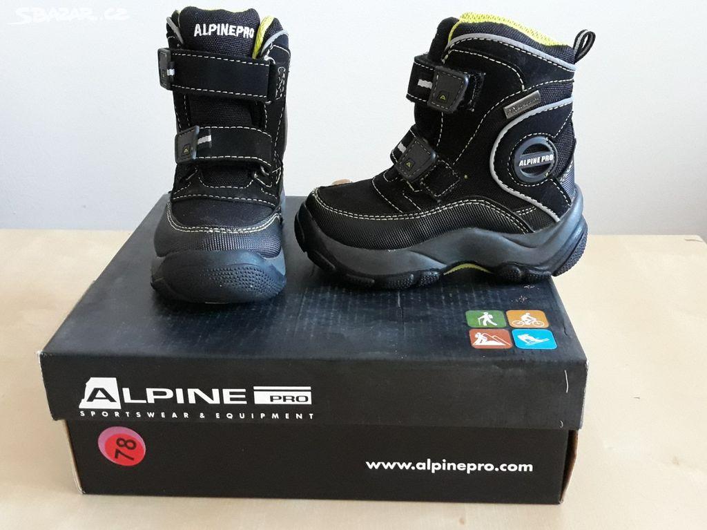 Dětské zimní boty ALPINE PRO vel. 22 - Ostopovice b0dbc9cd06