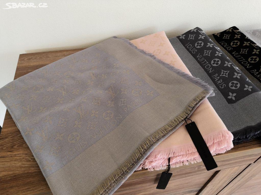 45ff87fbb6 Pléd shawl Louis Vuitton lurex id - Nový Bor