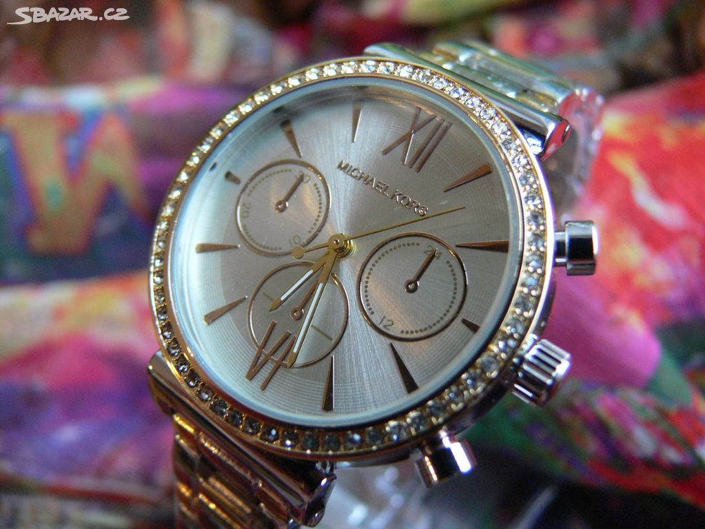 Dámské hodinky Michael Kors - Brno-město - Sbazar.cz 29de936e70