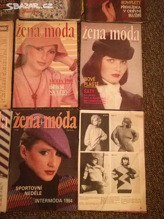b266b53e90b Prodám časopisy Žena + Móda