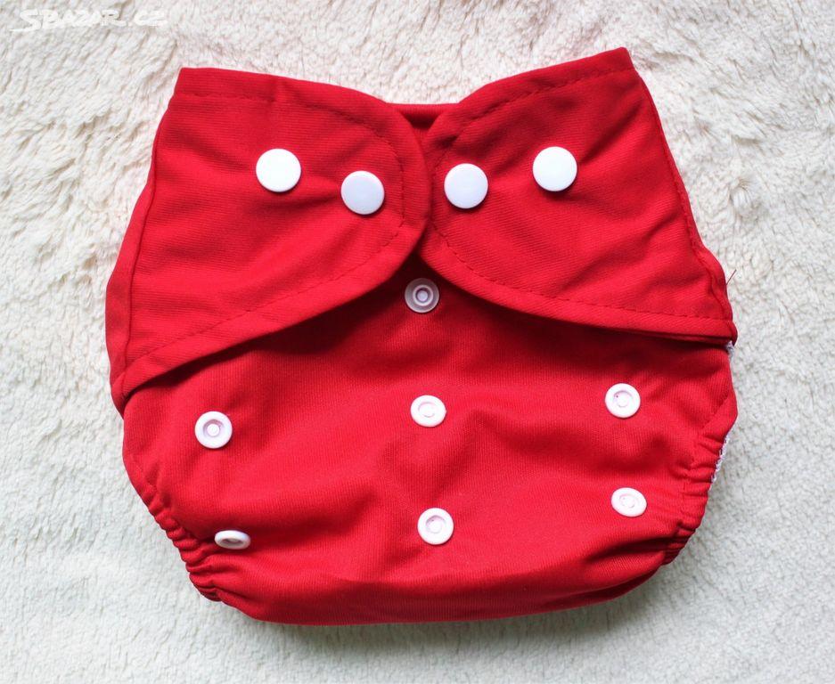 Látkové pleny - svrchní kalhotky - červené - Dvory nad Lužnicí ... c7502e0080