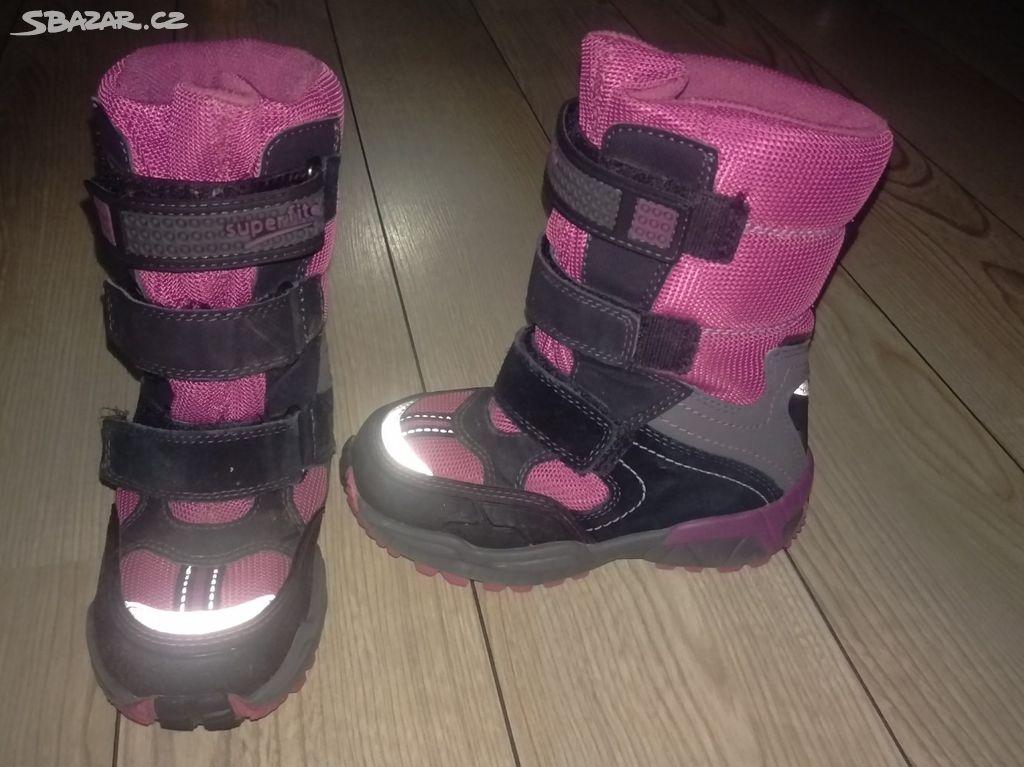Dětské zimní boty Superfit vel. 27 s Goretexem - Praha - Sbazar.cz 2ef3047023