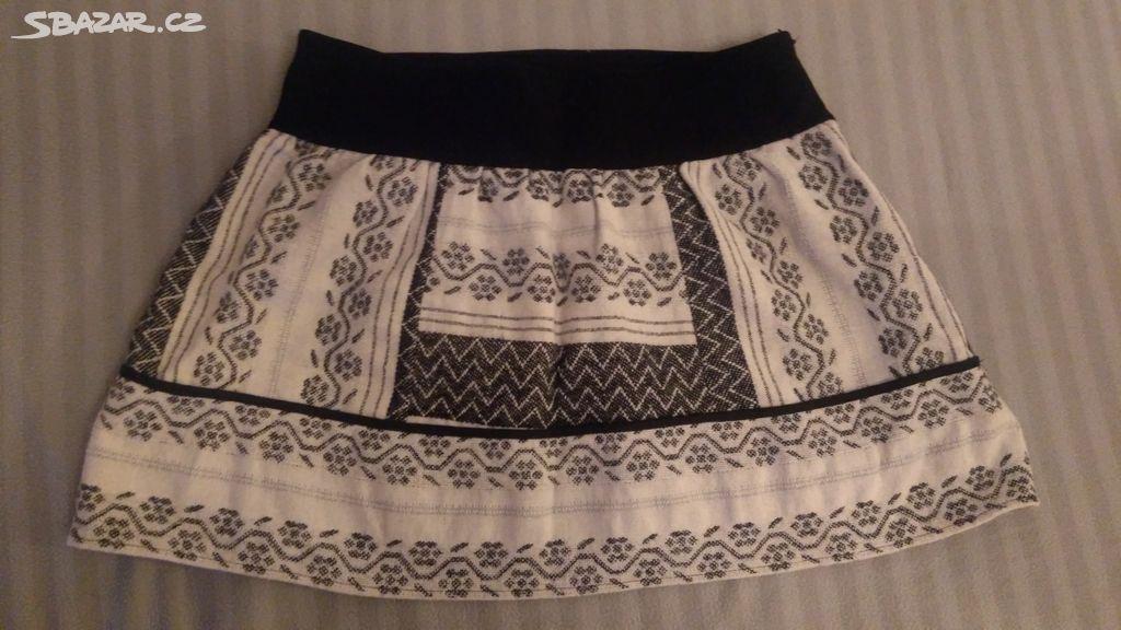 Zimní sukně - Jemnice 98d7085720