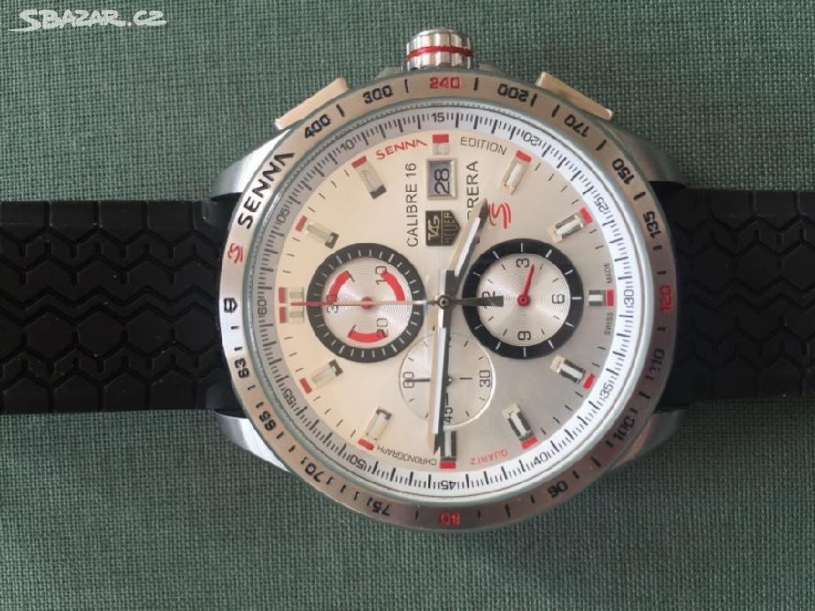 Prodám hodinky Tag heuer Senna - Brno - Sbazar.cz 6d183cd762