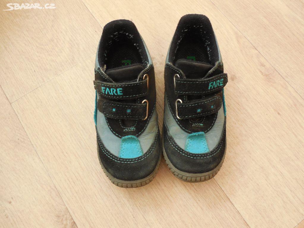 1d83608dbca Chlapecké jarní kožené boty FARE 27 - Velké Meziříčí