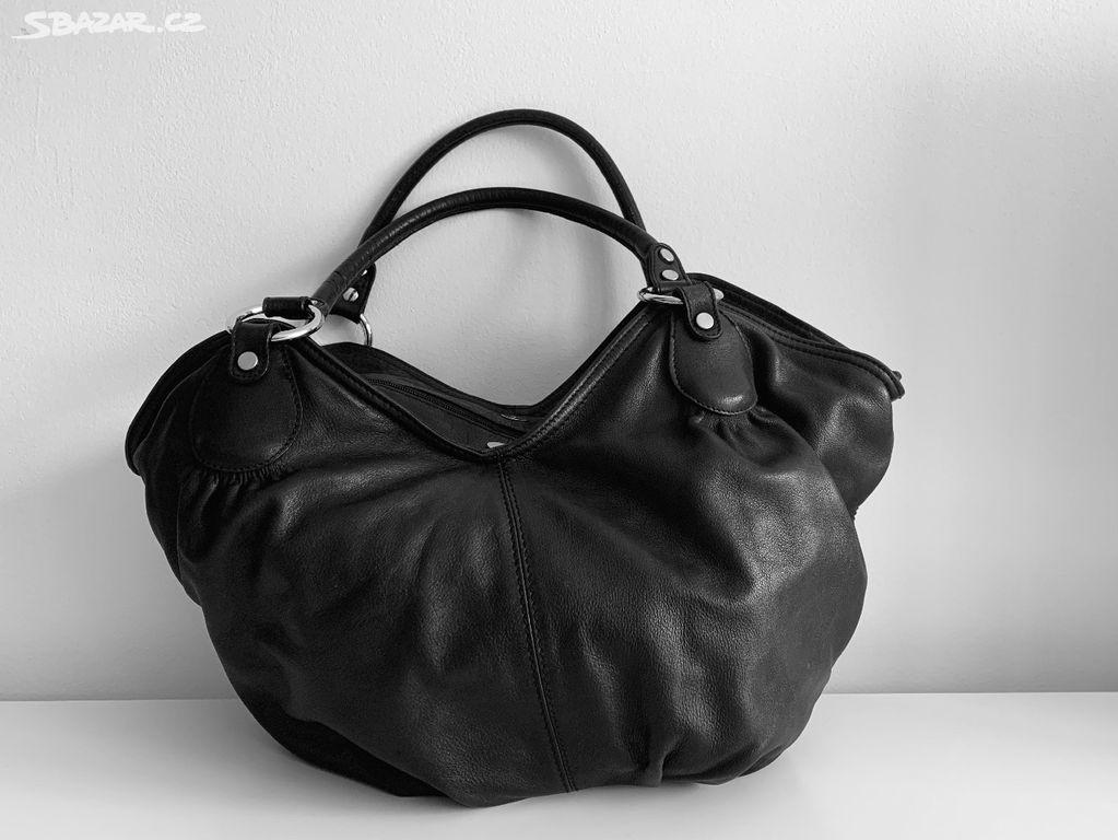 Dámská kožená kabelka přes rameno 5df8d3fa616