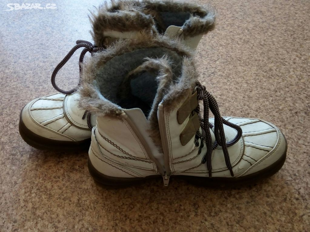 Zimní boty s kožíškem na zip - Teplice - Sbazar.cz 26a2d206bb