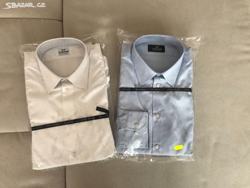 a881fb972a6 Le Premier- luxusní pánské košile na míru-PC 3.090 - Mariánské Lázně ...