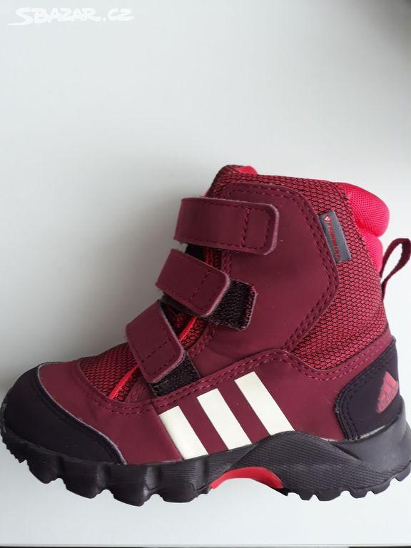 Dětské zimní boty Adidas - Mšeno bff955fb7f