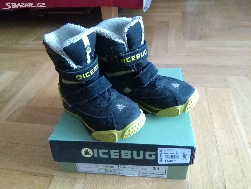 3cb8c275339 dětske zimni boty Icebug 31 - Praha - Sbazar.cz