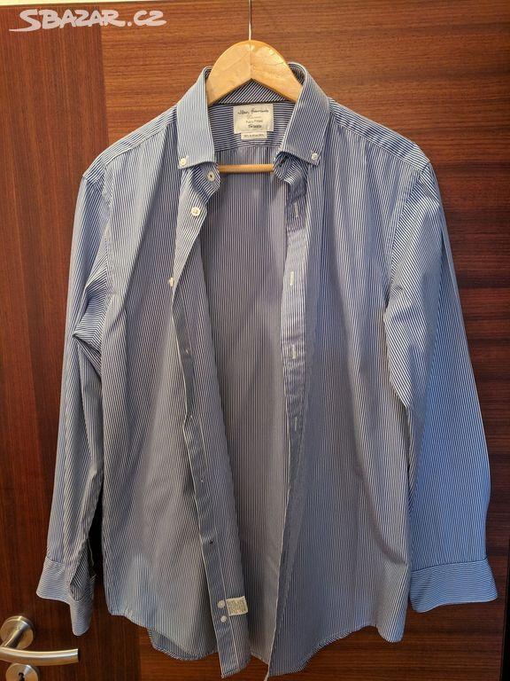 b78b1582cf8 Luxusní košile T. M. Lewin 42 87cm - Praha - Sbazar.cz
