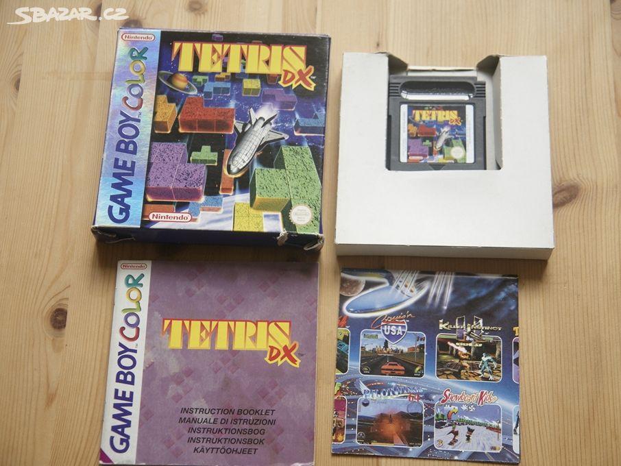 Tetris DX (Gameboy color)