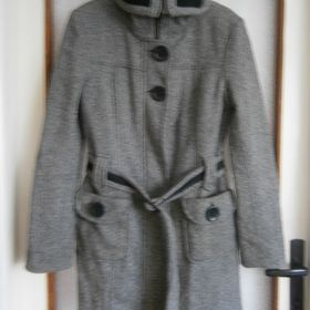 58dc7e35d282 Inzeráty dámský šedý kabát - Bazar a inzerce zdarma - Sbazar.cz