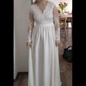 617ddd1b65a3 Inzeráty jednoduché svatební šaty - Bazar a inzerce zdarma - Sbazar.cz