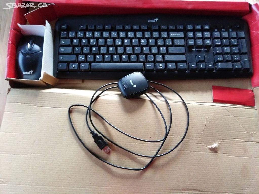 Bezdrátová klávesnice a myš Genius - Havířov, Karviná