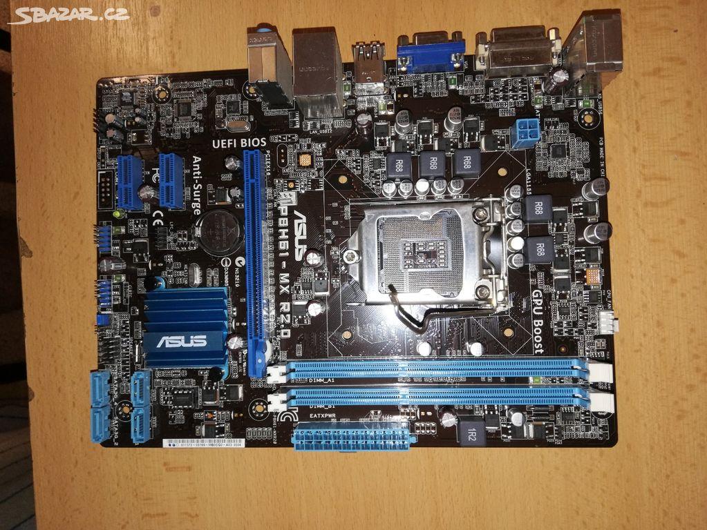 Základní deska ASUS P8H61-MX R2 0 - Intel H61 - Louny