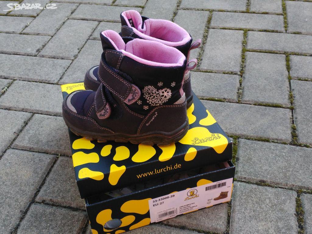 huge selection of 98792 59171 Dětské zimní boty LURCHI SympaTex velikost 27
