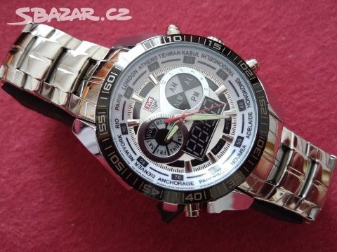 Luxusní pánské hodinky TVG white - super cena - Kladno - Sbazar.cz 49d1b1d3f3