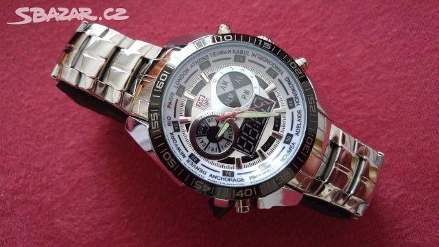 45479c5c1ab Luxusní pánské hodinky TVG white - super cena - Kladno - Sbazar.cz