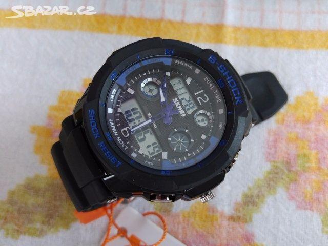 Pánské hodinky Skmei S-shock - různé barvy - Kladno - Sbazar.cz 6fc7e806c9